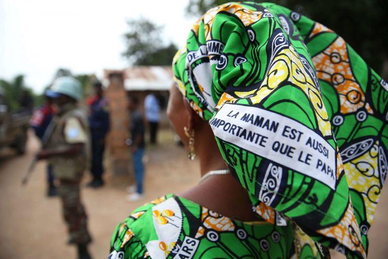 La femme Burundaise